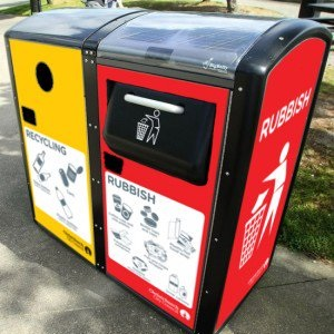 Bigbelly Solar bins
