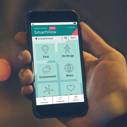 SmartView web app